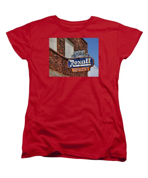 Sign Of The Past Women's T-Shirt (Standard Cut) by David and Carol Kelly