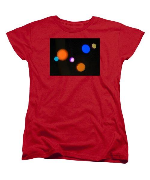 Simple Circles Women's T-Shirt (Standard Cut) by Susan Stone
