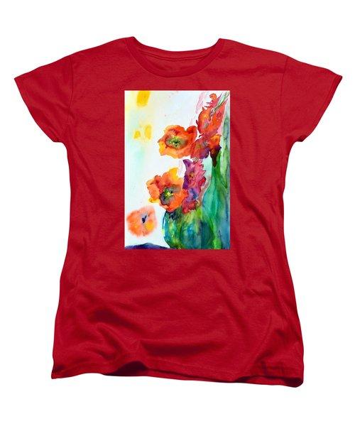 Sing Out Women's T-Shirt (Standard Cut) by Beverley Harper Tinsley