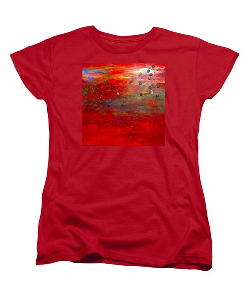 Singing With Passion Women's T-Shirt (Standard Cut)