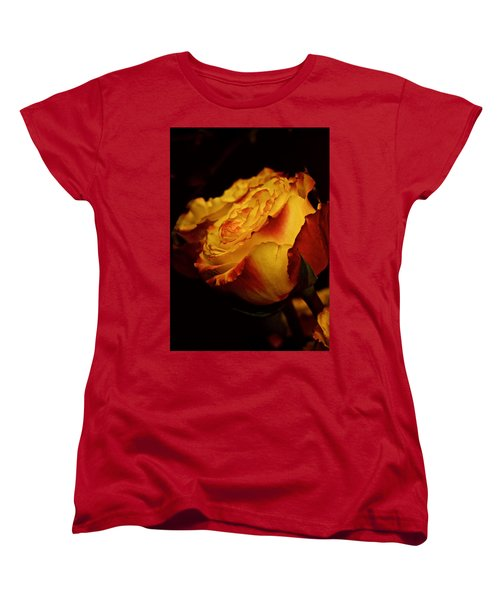 Single March Vintage Rose Women's T-Shirt (Standard Cut) by Richard Cummings