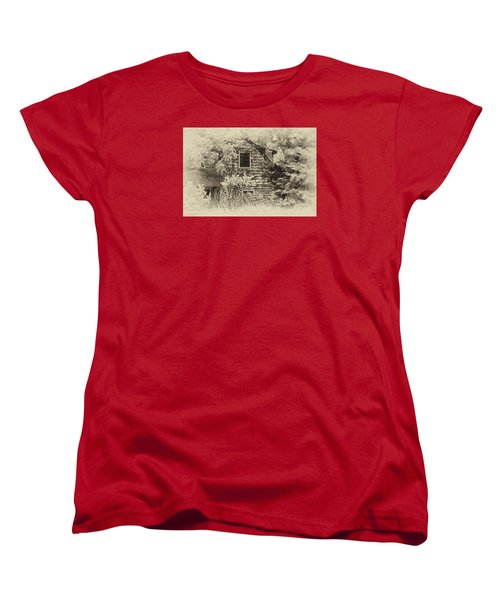 Women's T-Shirt (Standard Cut) featuring the photograph Single View by Tamera James