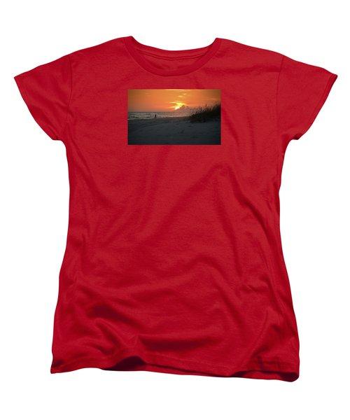 Sinking Into The Horizon Women's T-Shirt (Standard Cut)