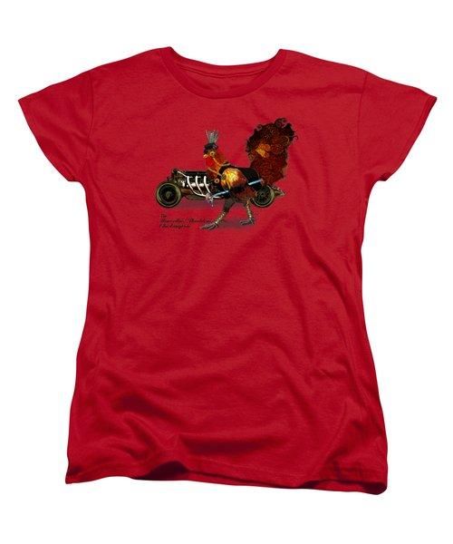 Sir Marcellus Thaddeus Cluckington Women's T-Shirt (Standard Cut) by Iowan Stone-Flowers