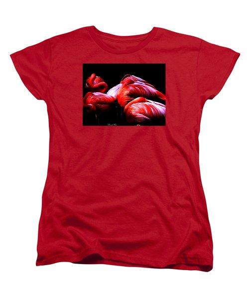 Sleeping Beauty Women's T-Shirt (Standard Cut) by Bernd Hau