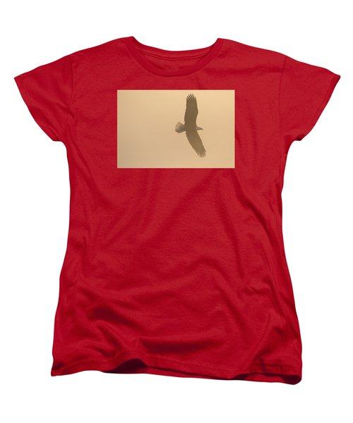 Slicing Through The Fog Women's T-Shirt (Standard Cut) by Brook Burling