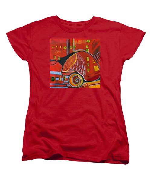 Slow Down Women's T-Shirt (Standard Cut) by Leela Payne
