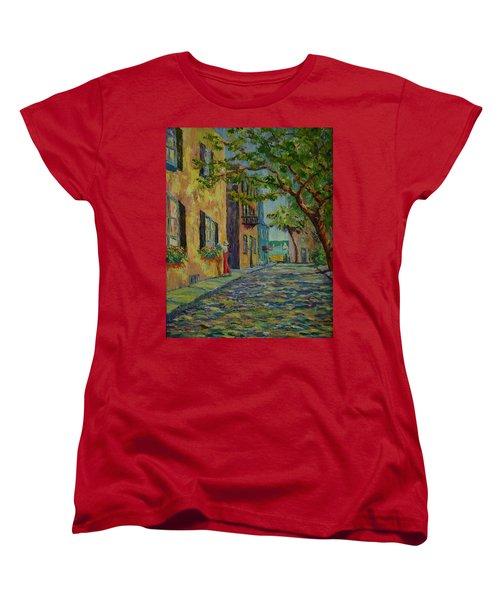 Farmer's Daughter  Women's T-Shirt (Standard Cut) by Dorothy Allston Rogers