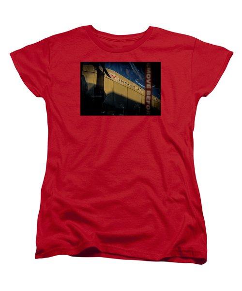 Women's T-Shirt (Standard Cut) featuring the photograph Sma Ssorc Der As by Paul Job