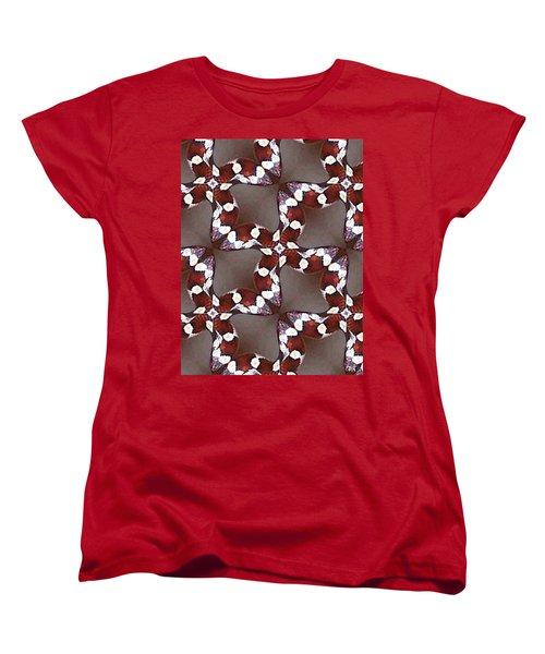 Snake I Women's T-Shirt (Standard Cut) by Maria Watt