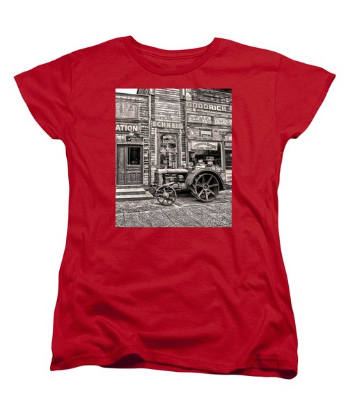 Snohomish Antiques Women's T-Shirt (Standard Cut) by Sonya Lang