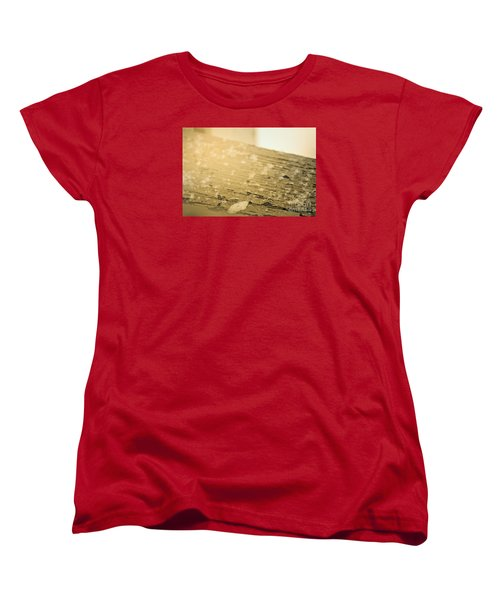 Snowflake Life Women's T-Shirt (Standard Cut) by Janie Johnson