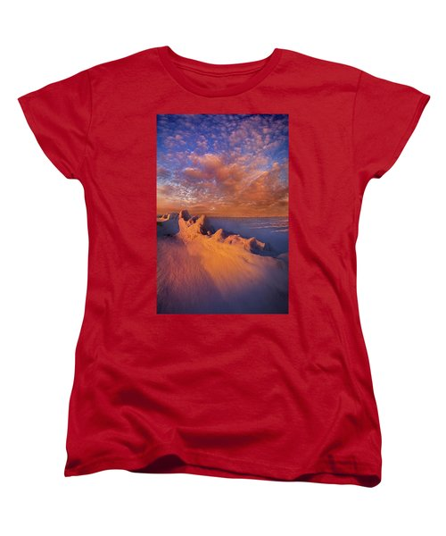 Women's T-Shirt (Standard Cut) featuring the photograph So It Begins by Phil Koch
