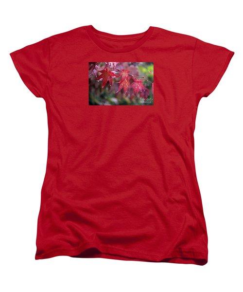 Soaked Women's T-Shirt (Standard Cut) by Yumi Johnson