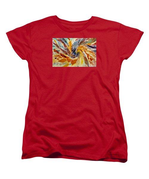 Solar Chakra Meditation Women's T-Shirt (Standard Cut)