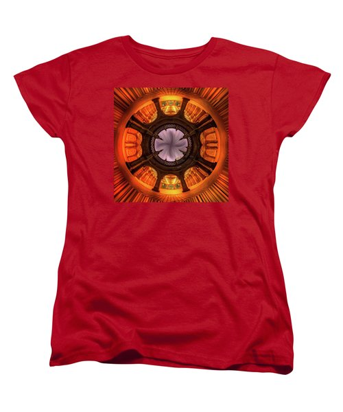 Women's T-Shirt (Standard Cut) featuring the photograph Solar Worship by Az Jackson