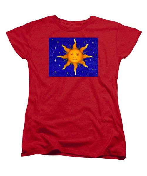 Soleil Women's T-Shirt (Standard Cut) by Sandra Estes