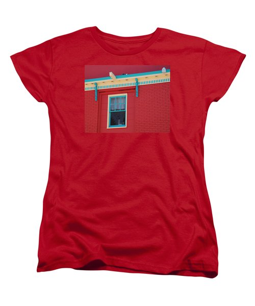 Women's T-Shirt (Standard Cut) featuring the photograph Solitary Window by Richard Bryce and Family