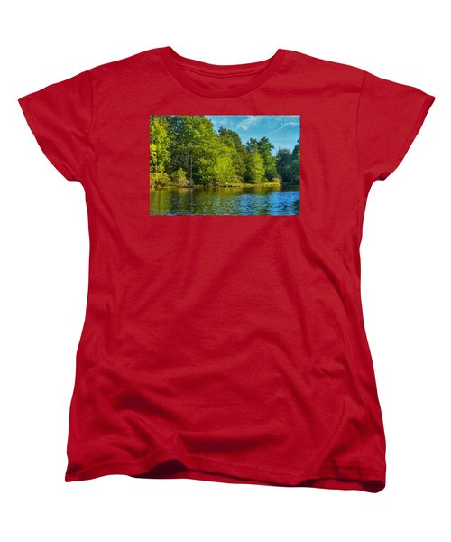 Solitude  Women's T-Shirt (Standard Cut) by Swank Photography