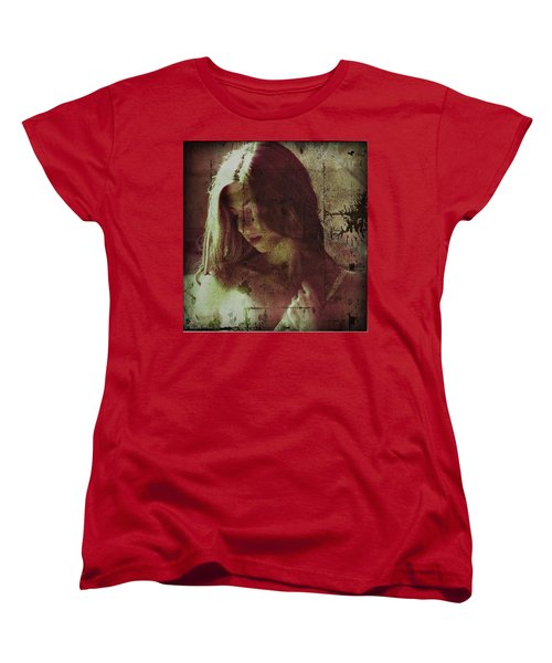 Sorrow Women's T-Shirt (Standard Cut) by Allen Beilschmidt