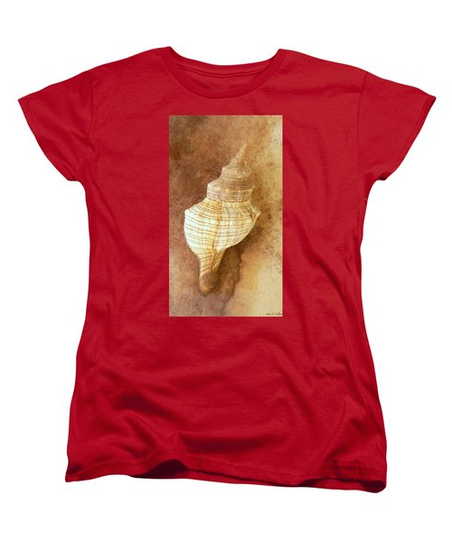 Sounds Of The Sea Women's T-Shirt (Standard Cut) by Holly Kempe