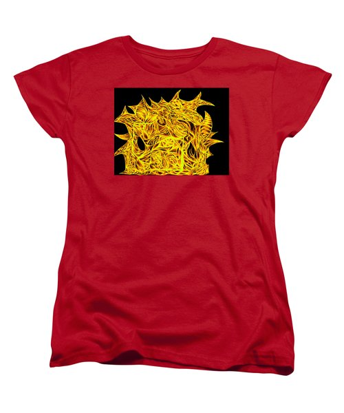 Women's T-Shirt (Standard Cut) featuring the drawing Sour Desire by Jamie Lynn
