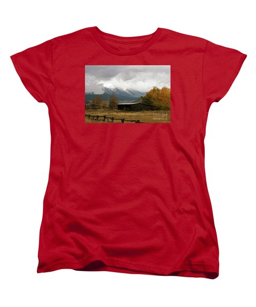 South Idaho Rt 20 Women's T-Shirt (Standard Cut) by Cindy Murphy - NightVisions