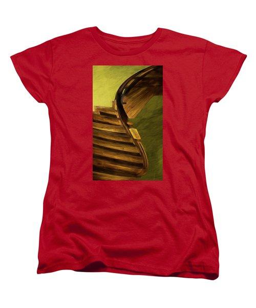 Space Geometry #12 Women's T-Shirt (Standard Cut) by Alex Galkin