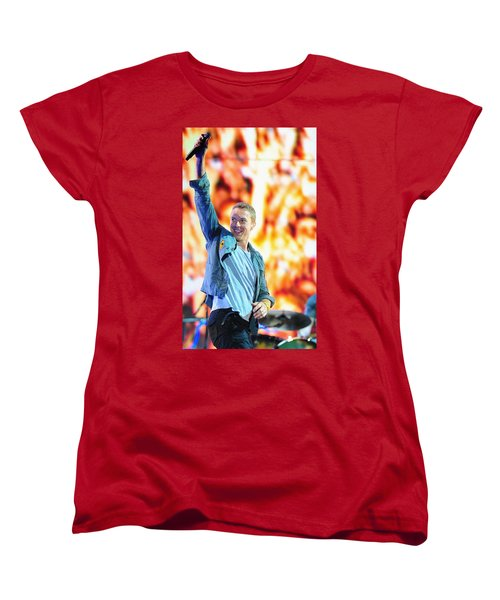 Coldplay4 Women's T-Shirt (Standard Cut) by Rafa Rivas