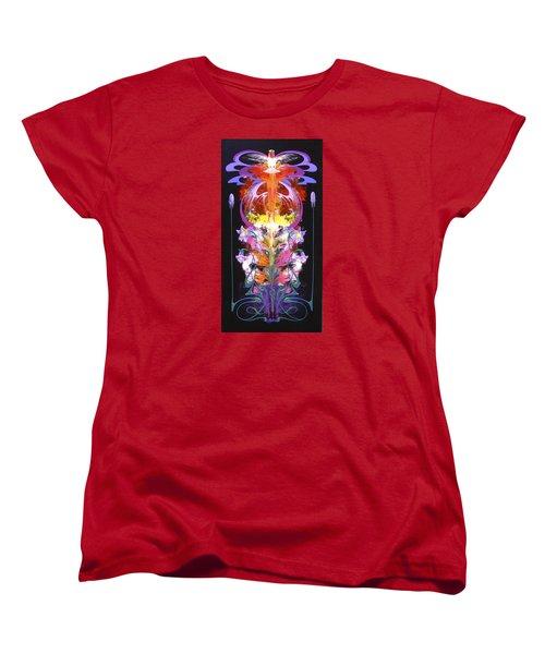 Spark Of Nature Women's T-Shirt (Standard Cut) by Alan Johnson