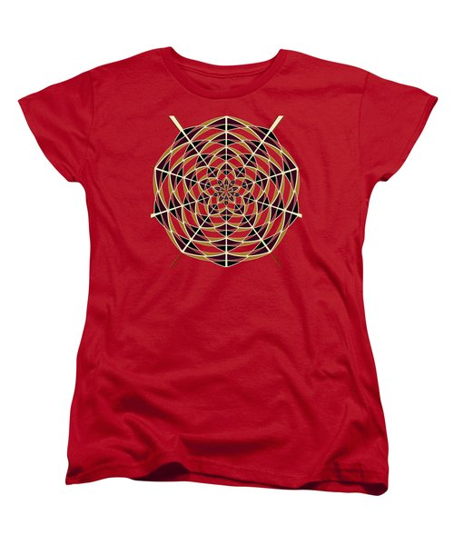 Spider Web Women's T-Shirt (Standard Cut) by Gaspar Avila