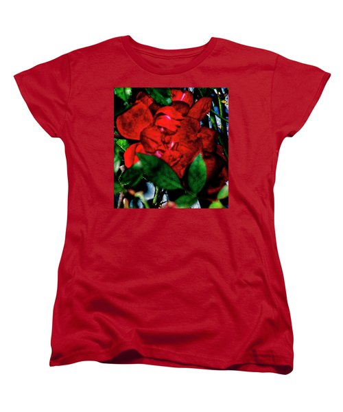 Spirit Of The Rose Women's T-Shirt (Standard Cut) by Gina O'Brien