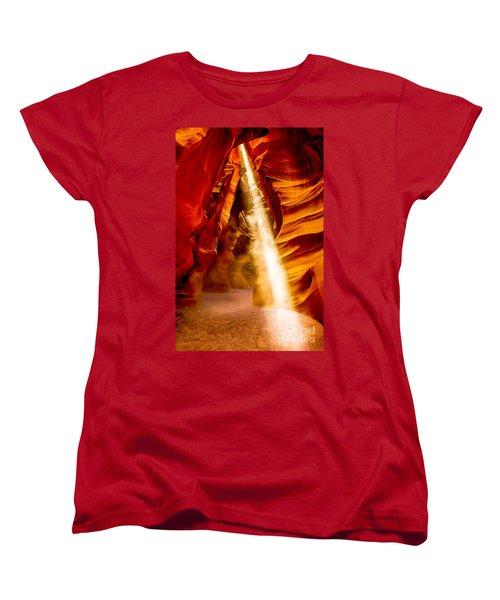 Spirit Light Women's T-Shirt (Standard Cut) by M G Whittingham