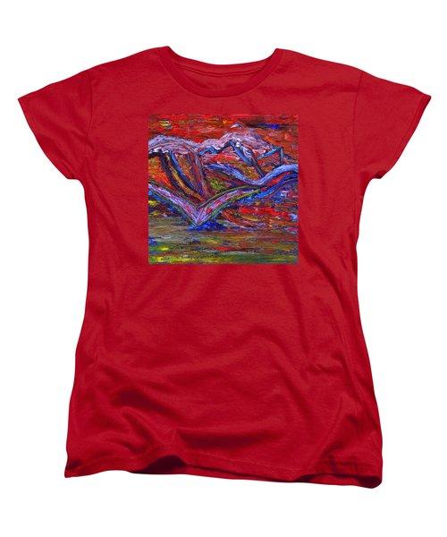 Spread Your Wings Women's T-Shirt (Standard Cut) by Vadim Levin