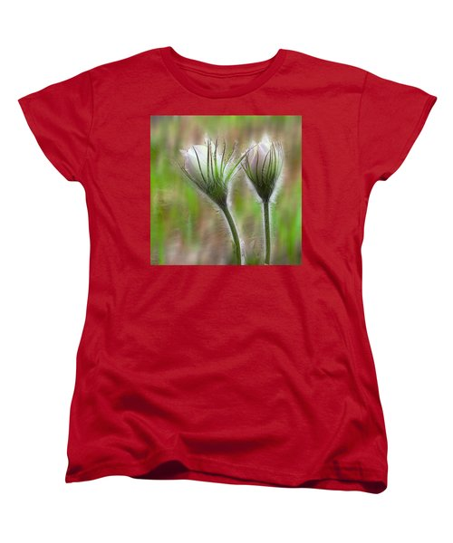 Women's T-Shirt (Standard Cut) featuring the photograph Spring Flowers by Vladimir Kholostykh