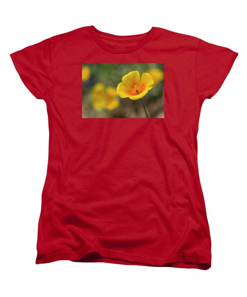 Women's T-Shirt (Standard Cut) featuring the photograph Spring Is Beckoning  by Saija Lehtonen