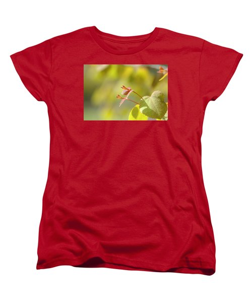 Women's T-Shirt (Standard Cut) featuring the photograph Spring Macro2 by Jeff Burgess