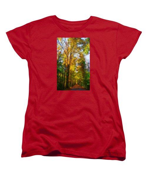 Spring Path Women's T-Shirt (Standard Cut) by Parker Cunningham