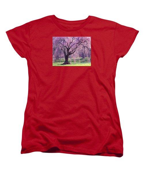 Spring Sensation Women's T-Shirt (Standard Cut) by Mikki Cucuzzo