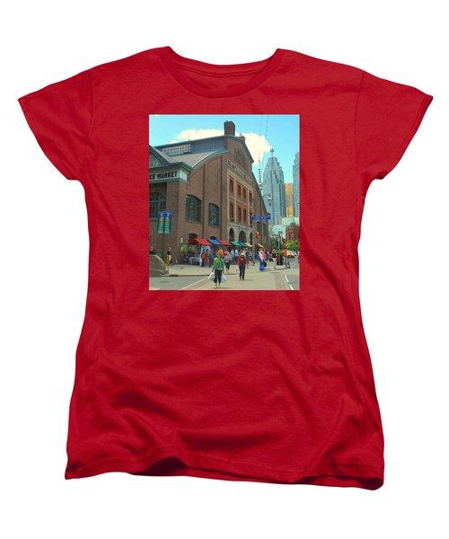 St Lawrence Market Women's T-Shirt (Standard Cut) by Ian  MacDonald