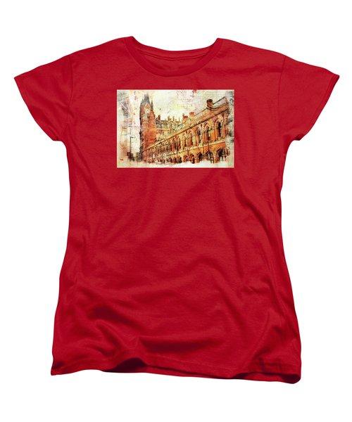 St Pancras Women's T-Shirt (Standard Cut) by Nicky Jameson