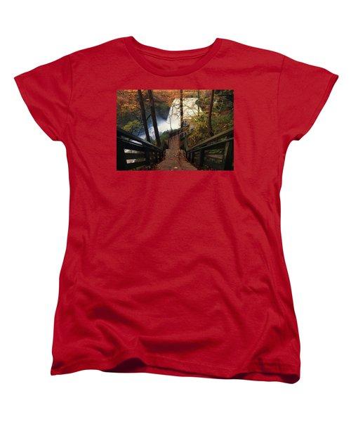 Stairway To Brandywine Women's T-Shirt (Standard Cut) by Rob Blair
