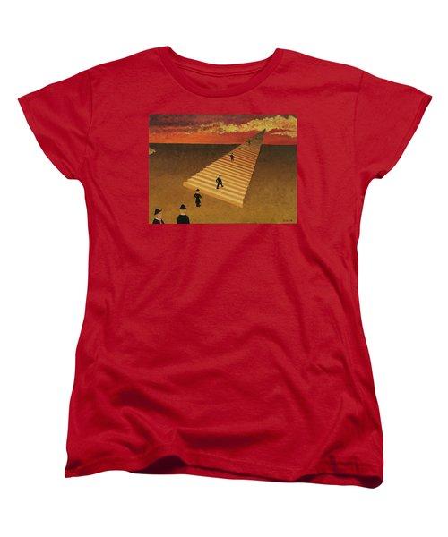Stairway To Heaven Women's T-Shirt (Standard Cut) by Thomas Blood