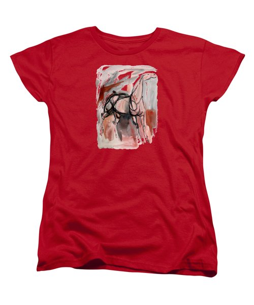 Stand Alone Bold One Women's T-Shirt (Standard Cut) by Mary Armstrong