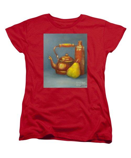 Standing Tall Women's T-Shirt (Standard Cut) by Genevieve Brown