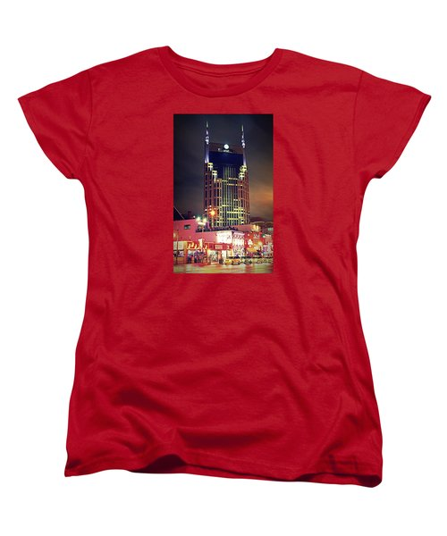 Standing Tall Women's T-Shirt (Standard Cut) by Matt Helm