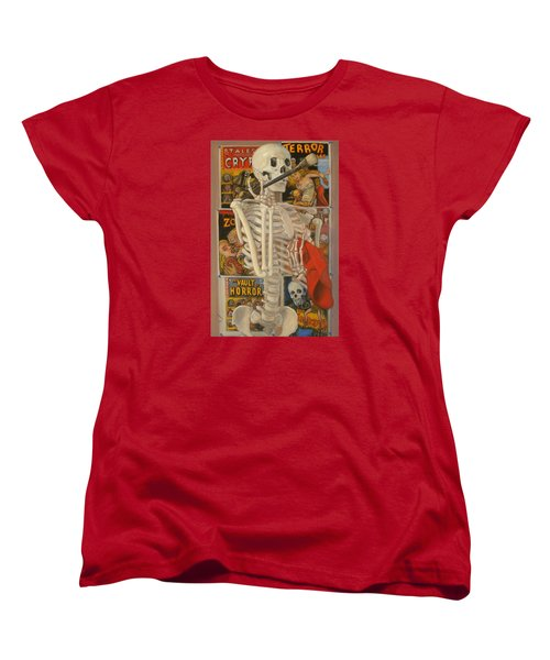 Women's T-Shirt (Standard Cut) featuring the painting Starving Artist by Donelli  DiMaria