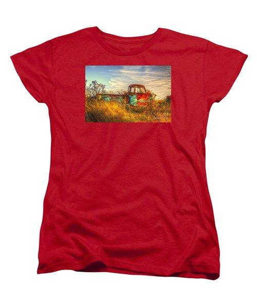 Starving Artist Women's T-Shirt (Standard Cut) by Robert Pearson