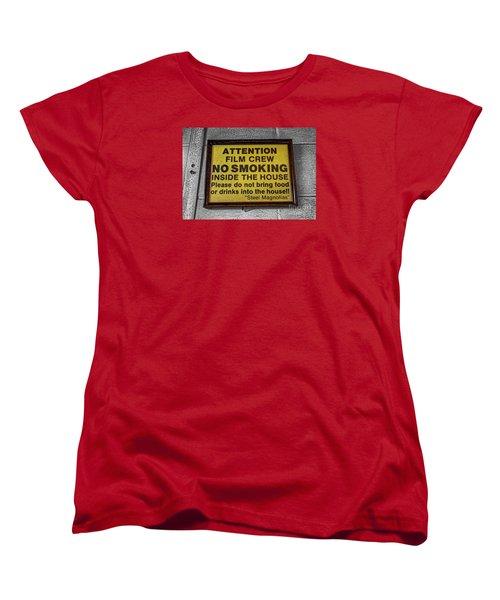 Women's T-Shirt (Standard Cut) featuring the photograph Steel Magnolias Memorabilia by Paul Mashburn