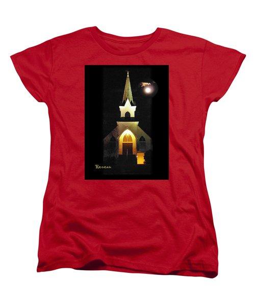 Steeple Chase 3 Women's T-Shirt (Standard Cut) by Sadie Reneau